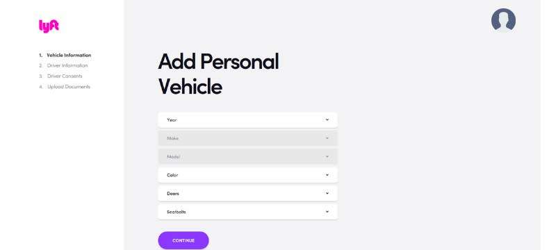 Lyft Driver Sign-up Bonus Step 3